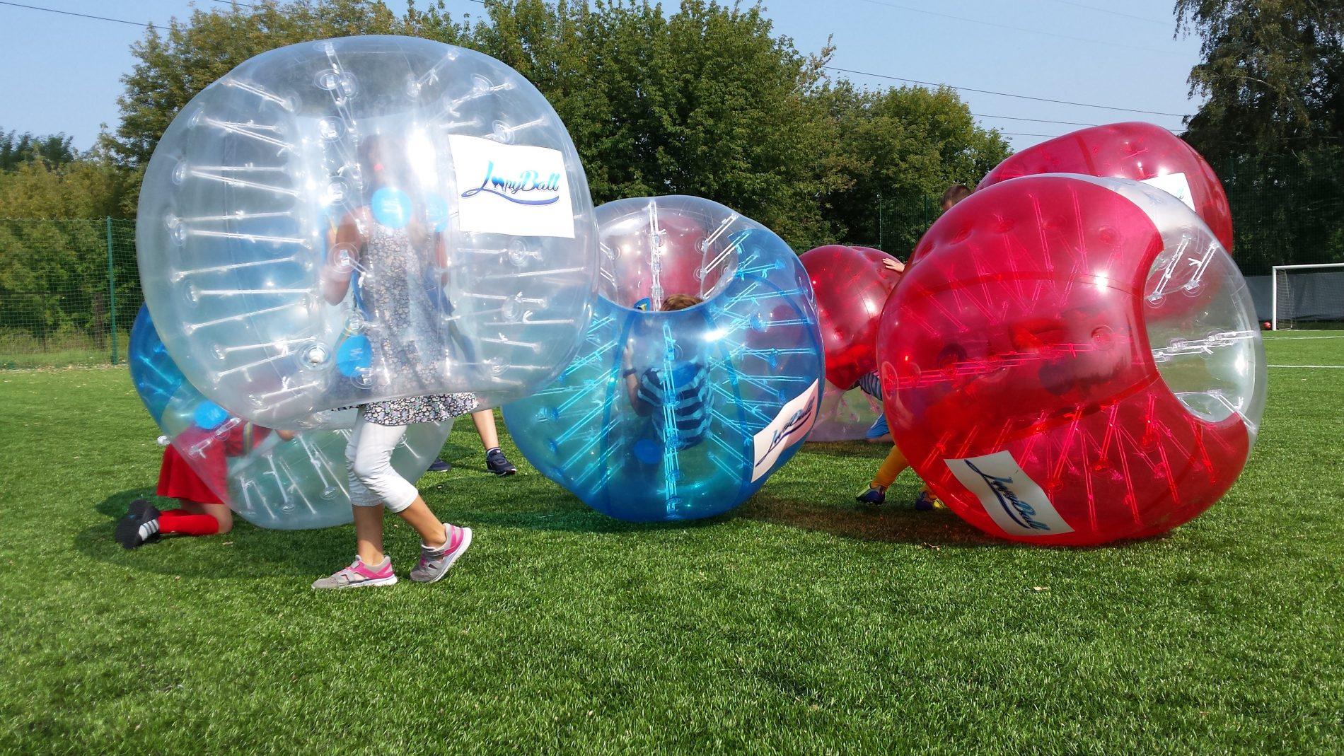 Bubble Football to świetna zabawa już dla najmłodszych
