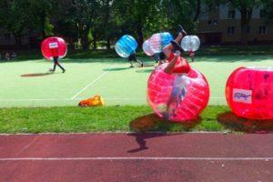 Bubble Football Warszawa - idealny pomysł na wieczór kawalerski