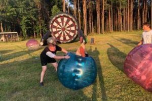 Bubble Football i Football Darts - idealne połączenie na imprezę firmową