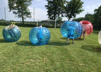 Bubble Football Kraków - impreza w klubie sportowym