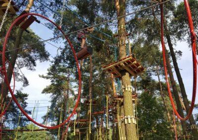 co robić z dzieckiem w krakowie - park linowy 2